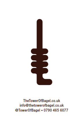 email: info@thetowerofbagel.co.uk phone: 07904656077 tweet: @towerofbagel